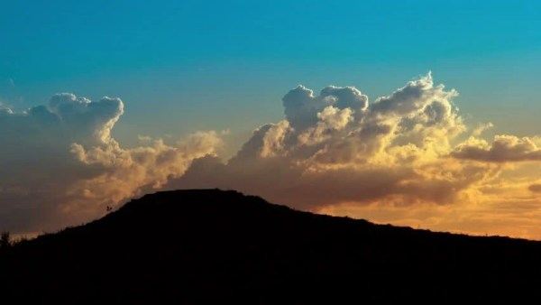 Sunset Clouds Time Lapse. DSLR, RAW Quality. Stock Footage ...