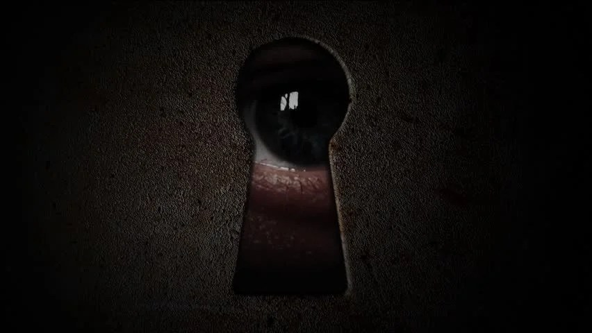 Image result for scary door handle
