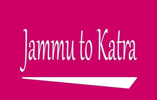 Jammu to Katra Train