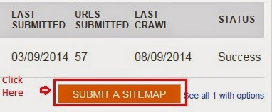 how to submit sitemap on bing yahoo and google webmaster