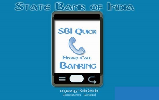 SBI account balance enquiry number