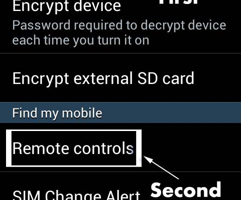 Samsung Tracker and Anti Theft Feature to Find a Lost/Stolen Phone
