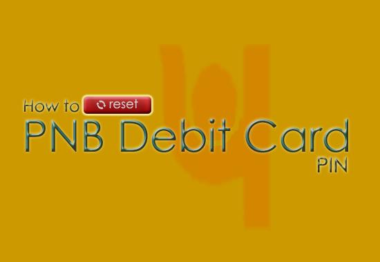 Reset PNB ATM PIN