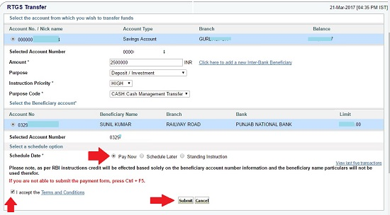 Sbi Rtgs Application Form Pdf