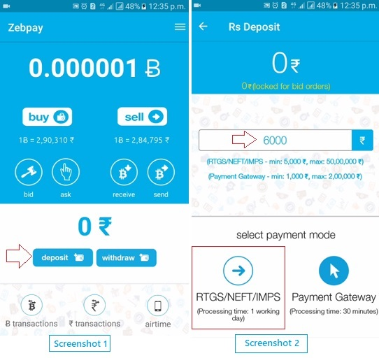 How To Buy Bitcoin From Zebpay Online Step By Step Guide Ilainfo -