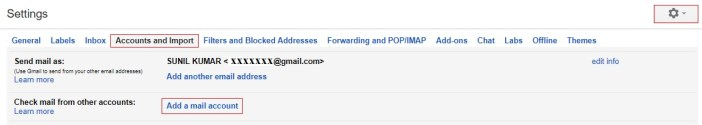 add mail account - gmail tips