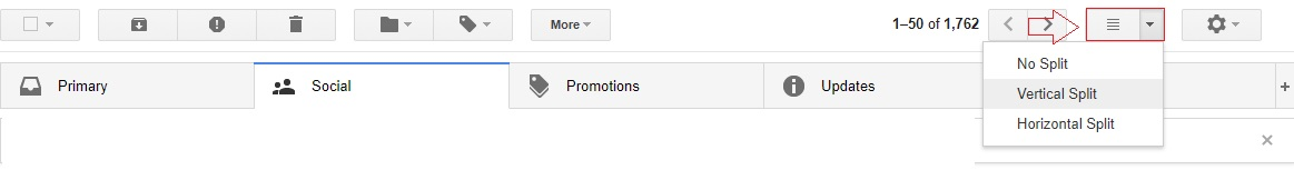 gmail preview pane feature - gmail tips
