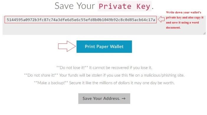 create ethereum paper wallet - best ethereum paper wallet generator