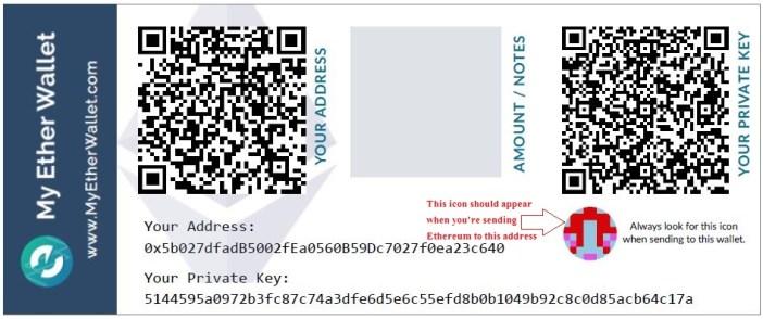 create ethereum paper wallets - best ethereum paper wallet generator