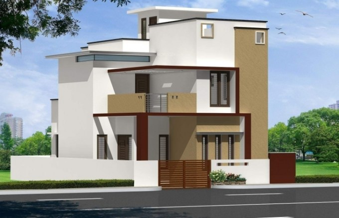 Single Floor East Facing Elevation : House front elevation designs for single floor west facing