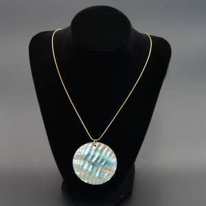 Abalone Circle Pendent