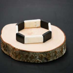 Ivory and Baleen Bracelet