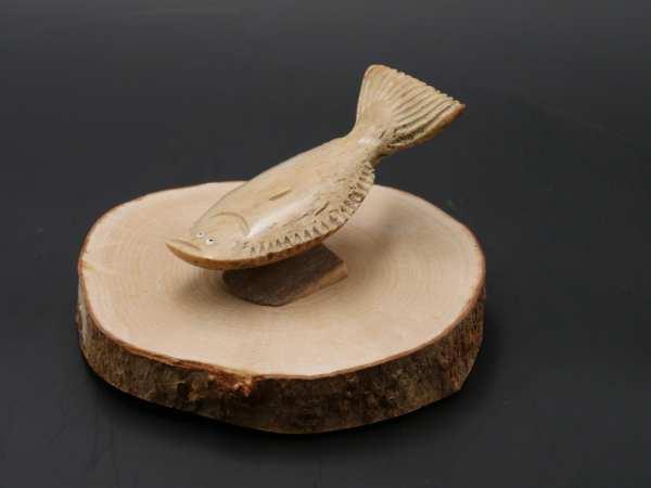 Fossilized Ivory Halibut