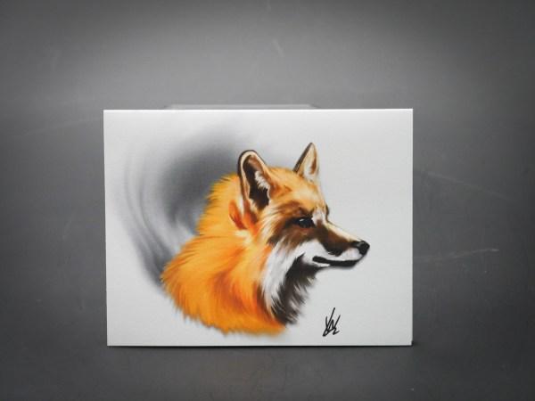 4x6 Fox Card