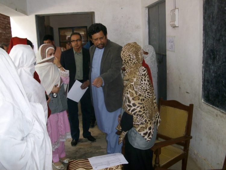 Free Eye Camp in District Nowshera KPK 2012