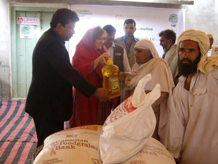 Food Packages Distribution in Nowshera and Charsadda 2010