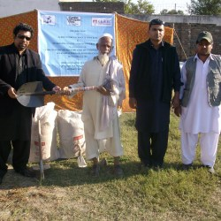 Distribution of Agricultutal Seeds and Tools KPK 2012