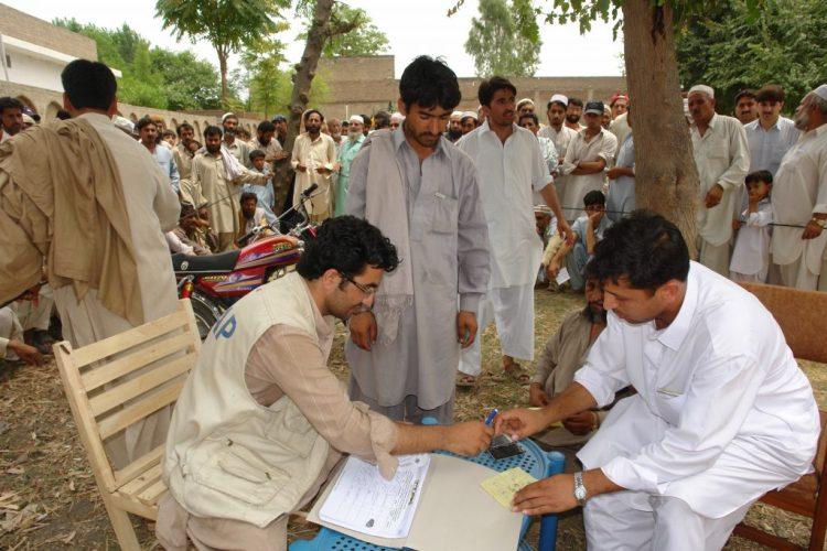 Hyginene Kits and NFI Distribution among IDPs Buner and Swat
