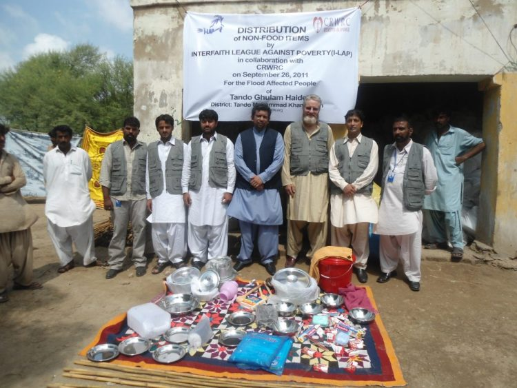 Non-Food Items Distribution Tando Muhammad Khan Sindh 2011