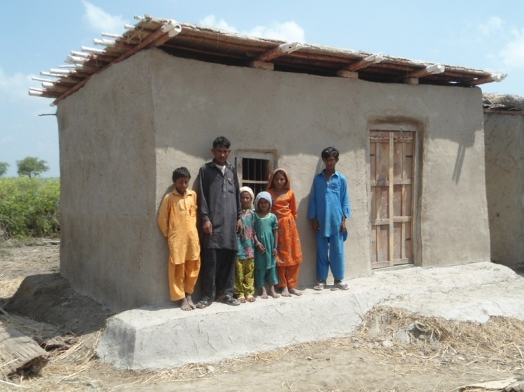 Construction of One Room Mud Shelter in Tando Muhammad Khan Sindh 2013
