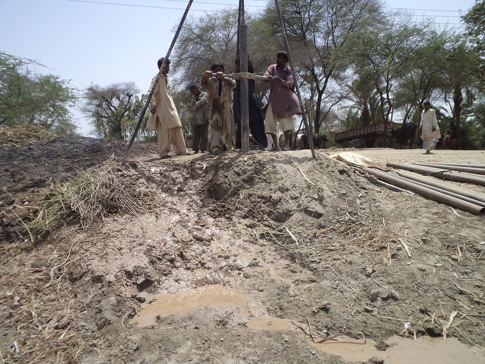 Installation of Handpumps in Badin Sindh 2012