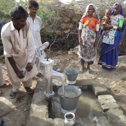 Installation of Handpumps in Tando Muhammad Khan Sindh 2011