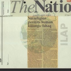 No religion permits human killings