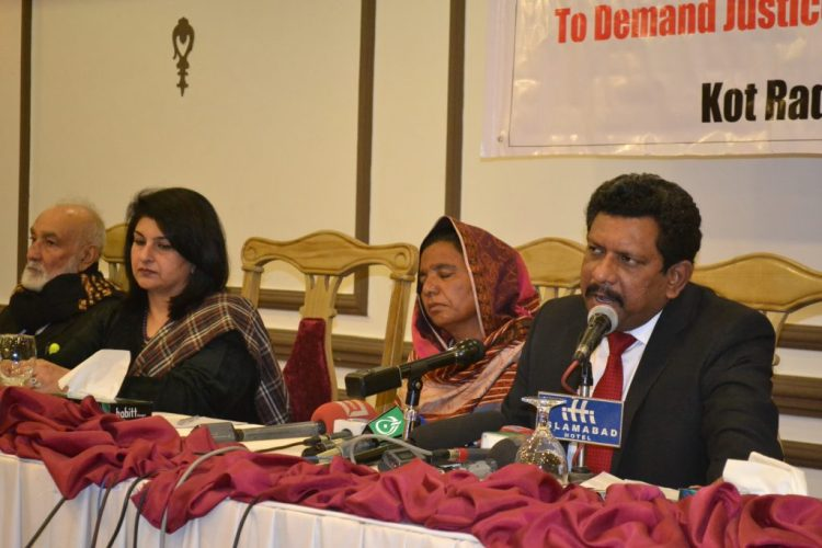Press Conference for Kot Radha Kishan Incident 2015