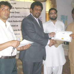 Disaster Risk Reduction Trainings in Nowshera KPK 2012