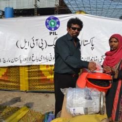 Food and NFI distribution in Badami Bagh- Lahore
