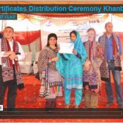 Certificates Distribution Ceremony Khanbella Rahim Yar Khan 2013