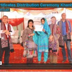 Certificates Distribution Ceremony Khanbella Rahim Yar Khan 2013