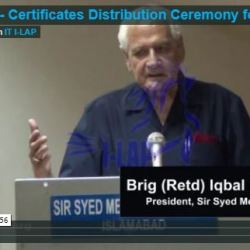 Certificates Distribution Ceremony for Interns 2013