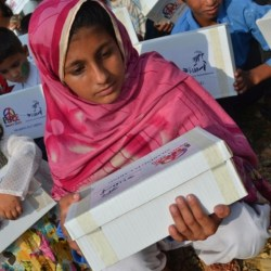 Eid Gifts Distribution