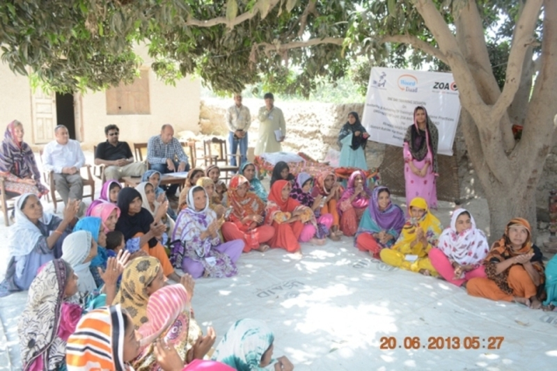 Hygiene Training and Distribution RYK