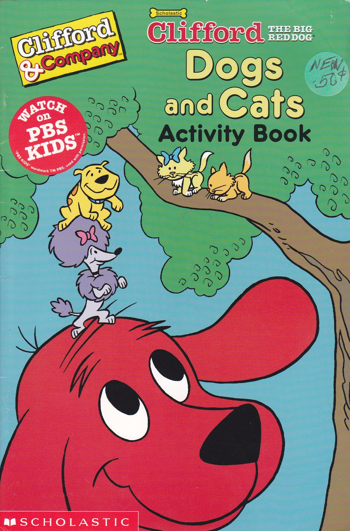 Picture Of Clifford The Big Red Dog Dogs And Cats Activity