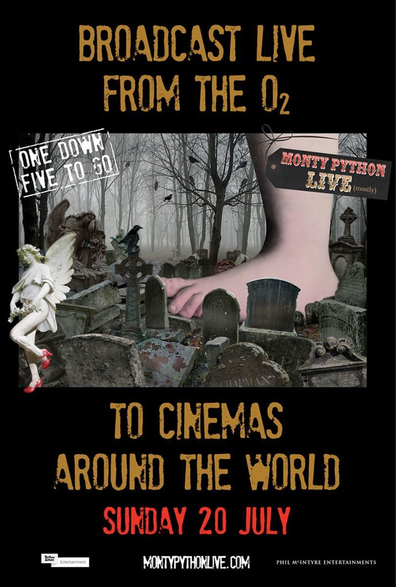 Poster do filme Monty Python Live (mostly)