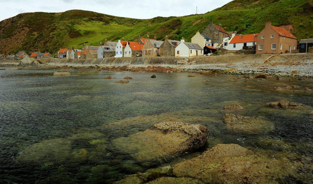 Il villaggio visto dal molo