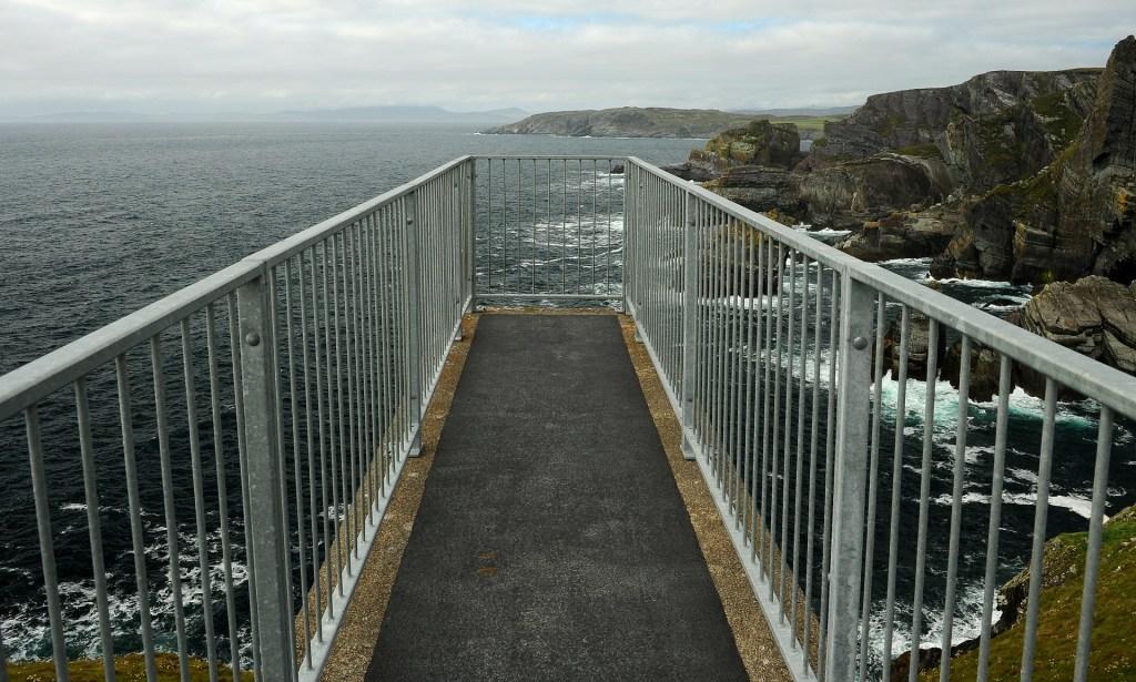 Piattaforma panoramica a MIZEN HEAD