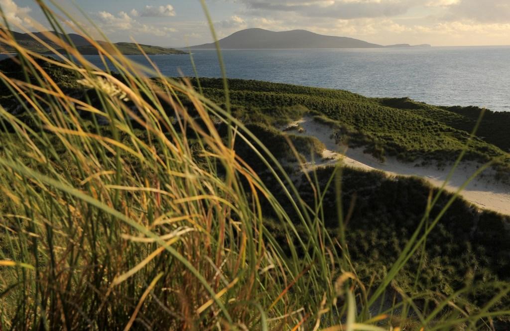 Le suggestioni create dal vento sulla cima delle dune
