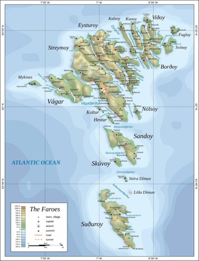 L'arcipelago delle FAROER