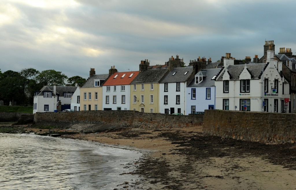 Case affacciate sul lungomare di ANSTRUTHER