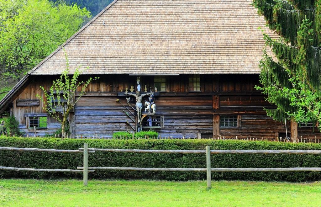 Le fattorie sono state ricostruite qui con tutti i loro elementi originali