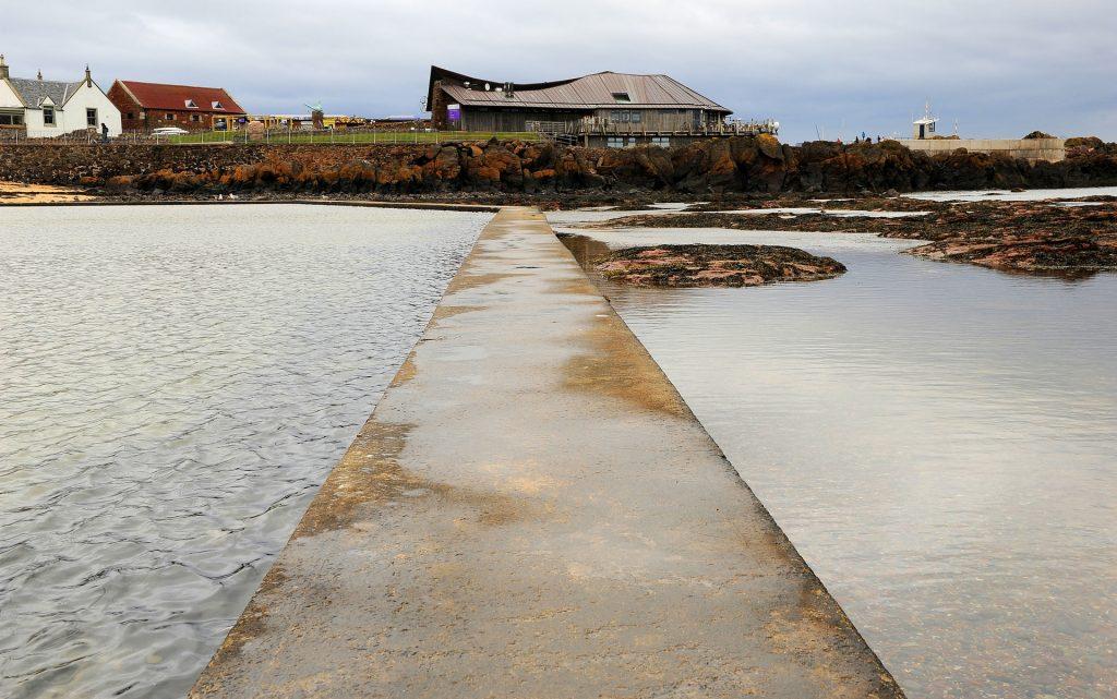 La moderna costruzione del SEABIRD CENTRE