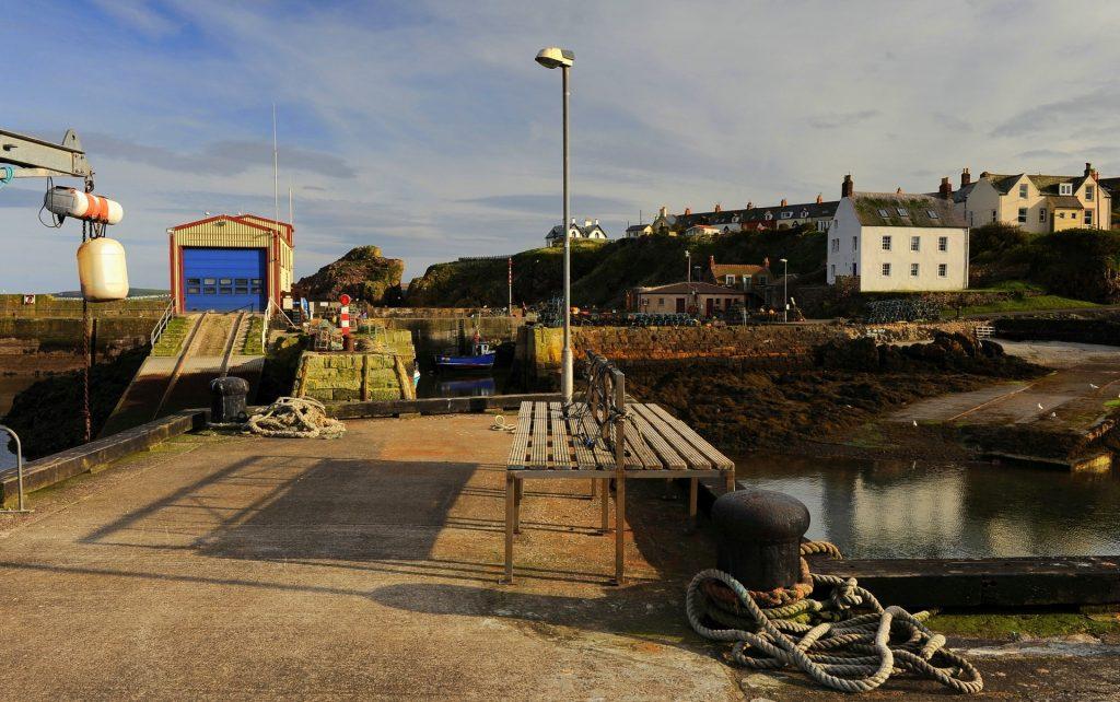 Un'altra veduta del porto