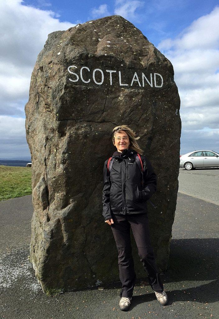 In balia del vento di Scozia!