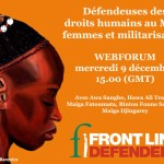 Webforum rights of Women of Mali