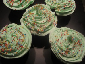 cupcakes verdi