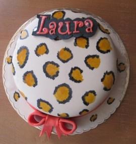 Torta leopardata