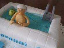 Torta piscina pallanuoto